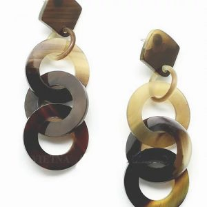 Horn Jewellery - drop earring
