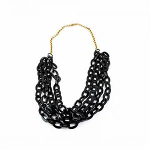 Multi-Strand Chain Link Necklace