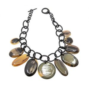 Horn Jewellery - disc necklace