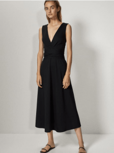 Massimo Dutti V-Neck Dress