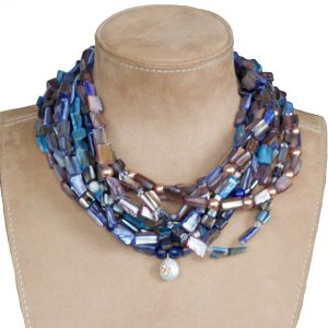 Multi-Strand Bib Necklace