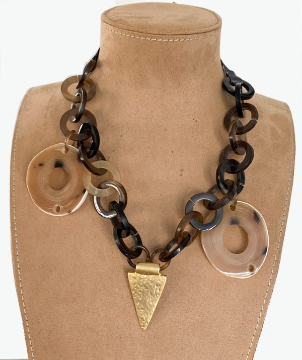 necklace with large dangles